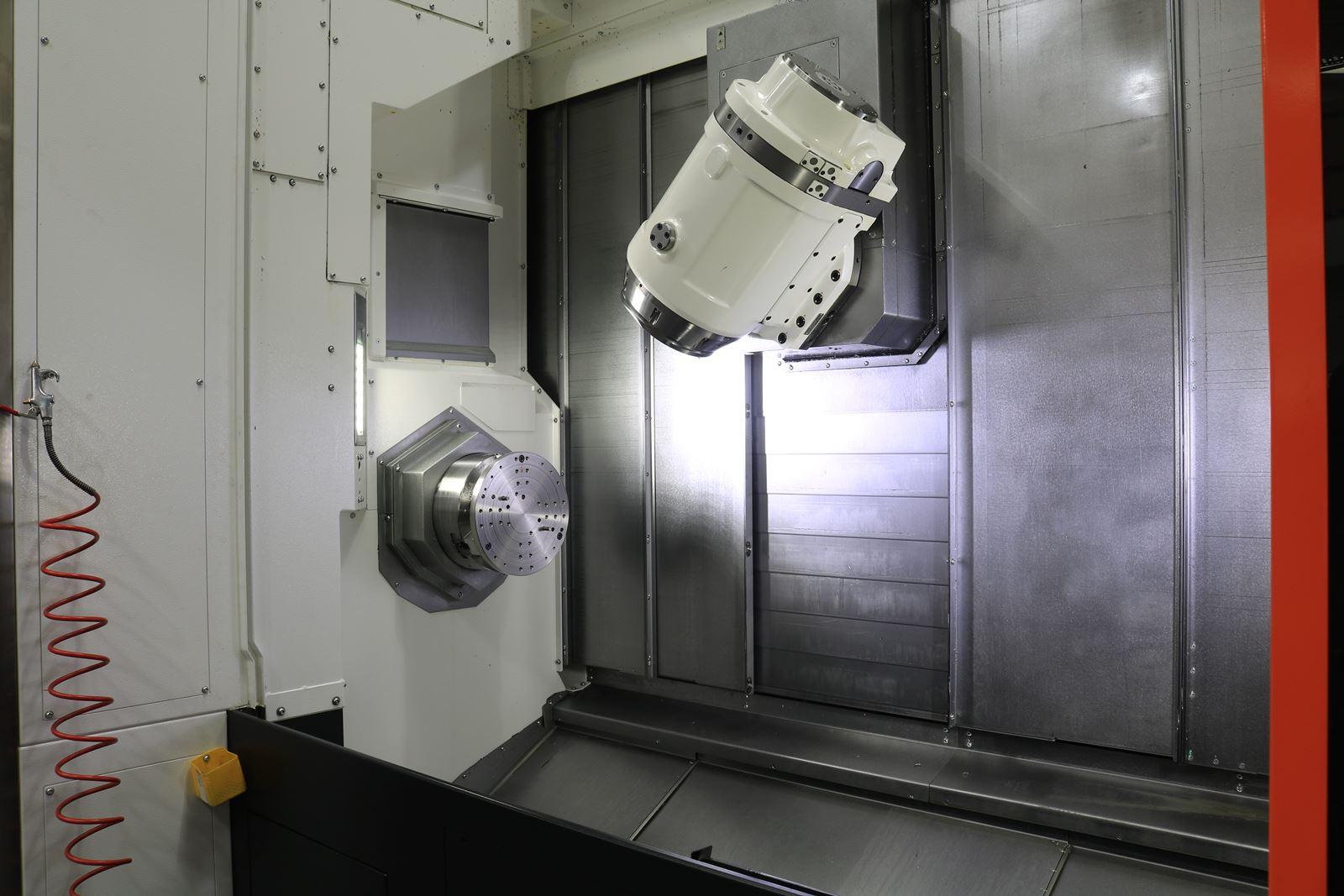 Mazak Integrex I200 Machine Head - UHV manufacturing