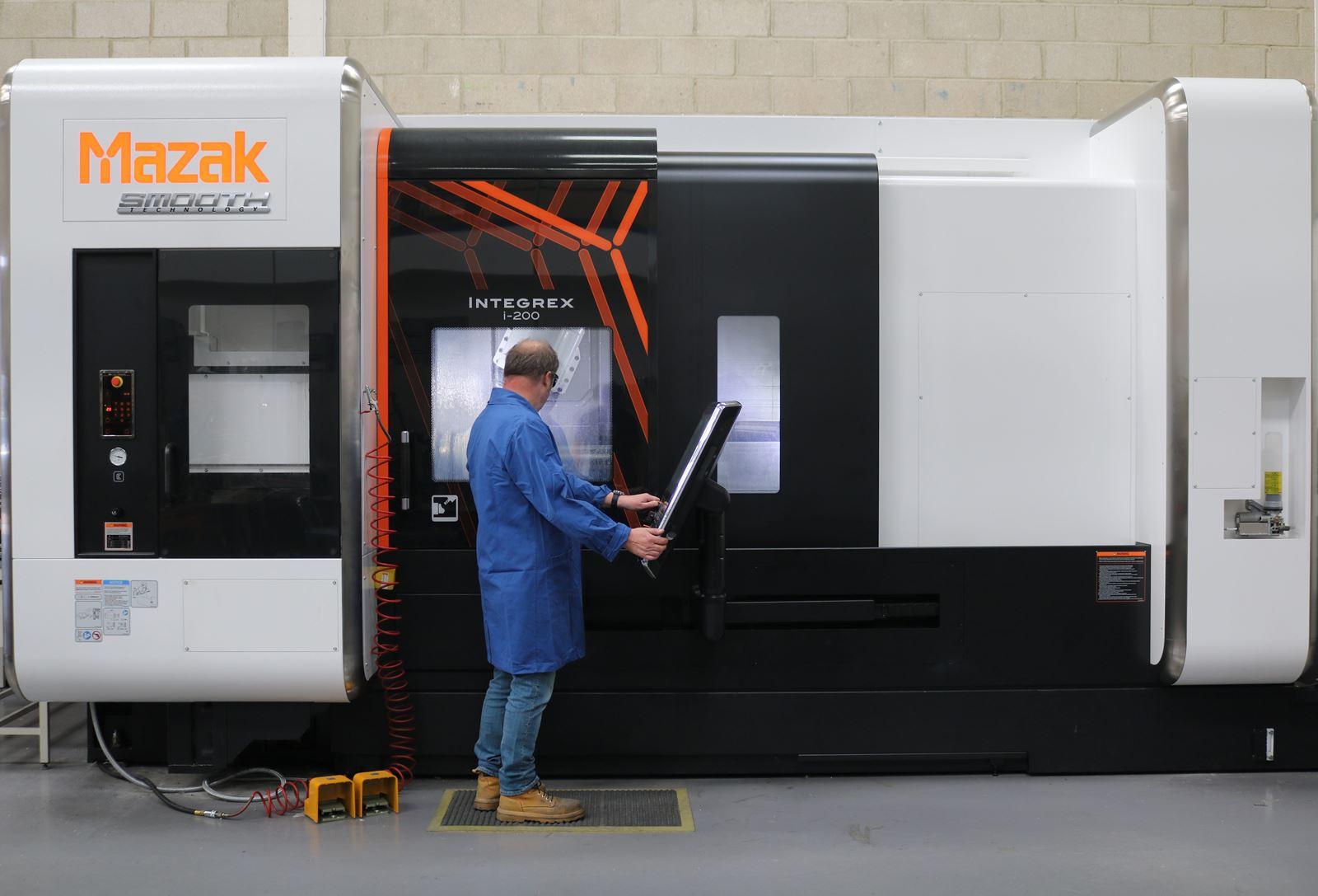 Mazak Integrex I200 - 5 Axis CNC Machining UHV components