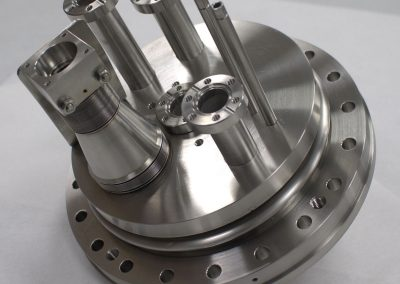 TIG Welded Flange assembly with bellows