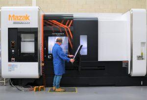 Mazak Integrex I200 - UHV component machining