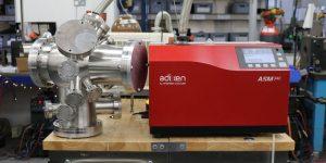 ultra high vacuum chambers being leak tested