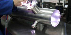 uhv welding custom vacuum chambers